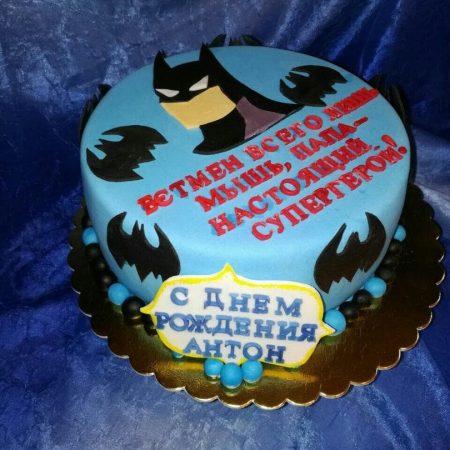 Торт Бэтмен фото