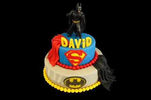 Торт Бэтмен и супермен