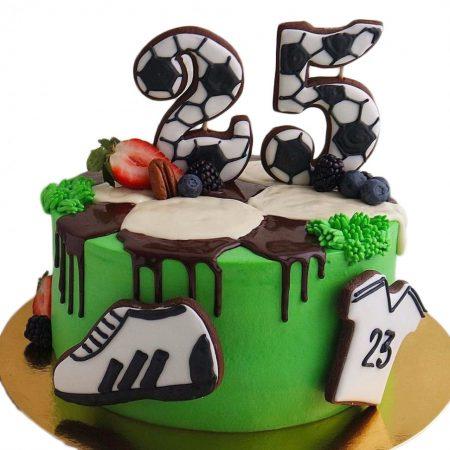 Торт футболисту на юбилей