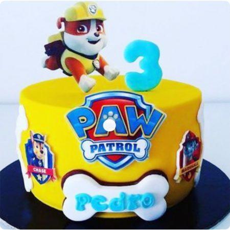 Торт щенячий патруль на три годика мальчику