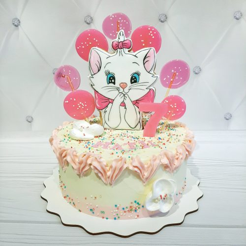 Торт с котиком