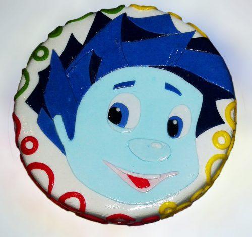 Торт Нолик из Фиксиков