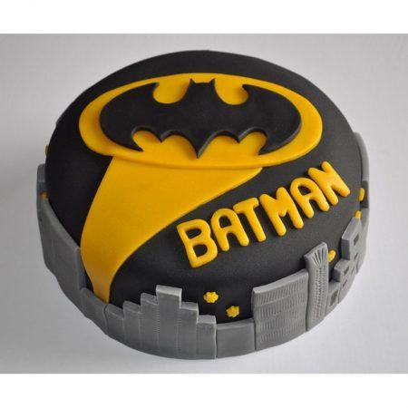 Торт Бэтмен из мастики