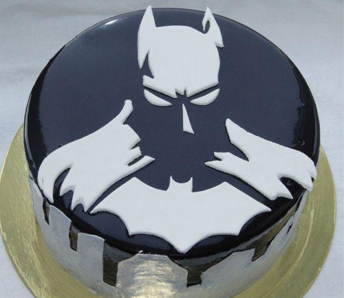 Торт Бэтмен мастика