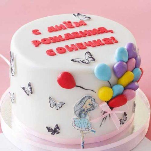 Торт для девочки 11 лет