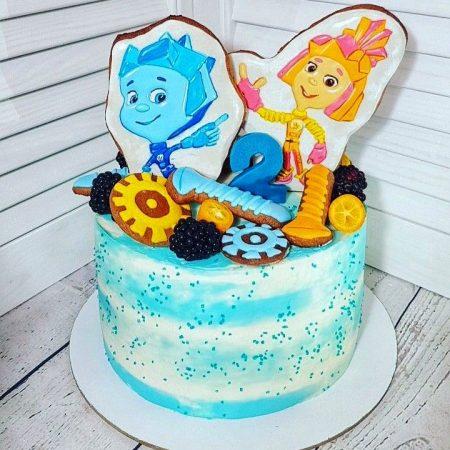 Торт фиксики для мальчика