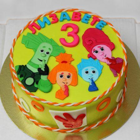 Торт в стилі фіксики