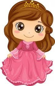 Маленькая принцесса из мультфильма
