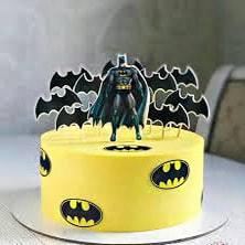Торт с Бэтменом вафельная картинка