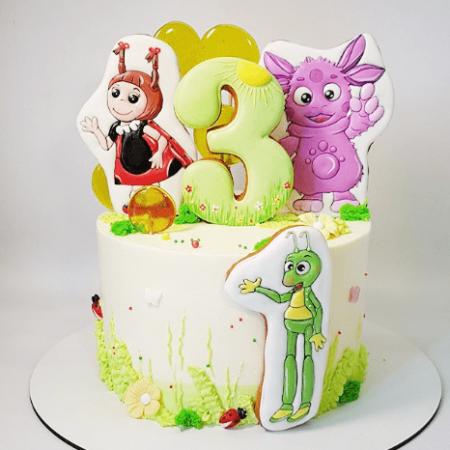 Торт детский лунтик