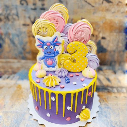 Детский торт лунтик