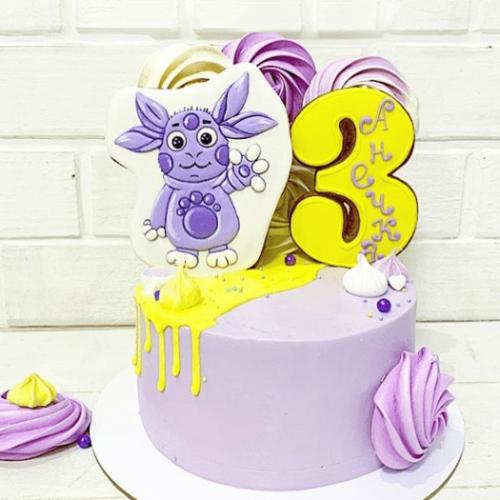 Лунтик торт