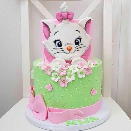 Торт с котёнком