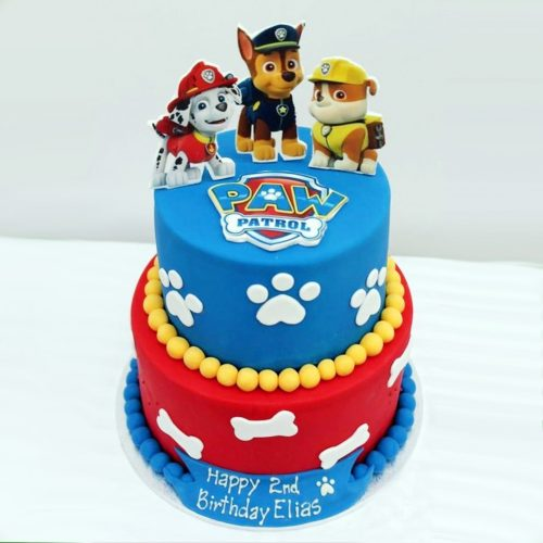 Торт щенячий патруль с персонажами