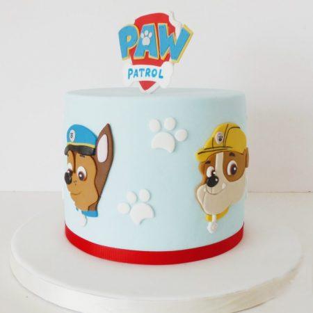Торт щенячий патруль PAW