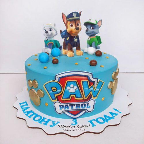 Щенячий патруль торт
