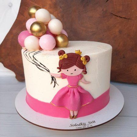 Торт девочке подросту