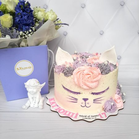 Торт котик