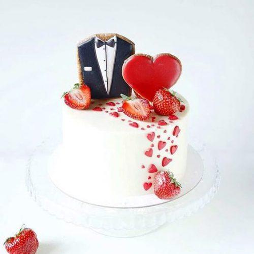 свадебный торт с пряниками