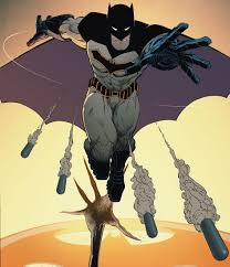 Рисунок Бэтмен в деле