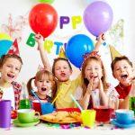 Детский праздник с тортом
