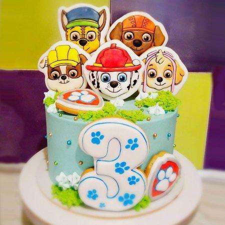 Торт щенячий патруль купить Киев