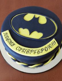 Фото торта с Бэтменом