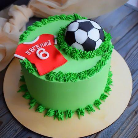 Торт мальчику футболисту на 6 лет