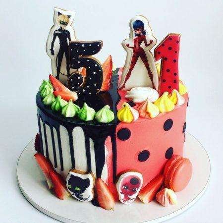 Торт Леди Баг и Супер-кот