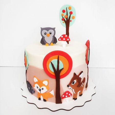 Торт со зверями