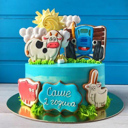Торт веселая ферма