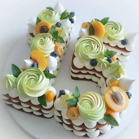 Торт цифра 15