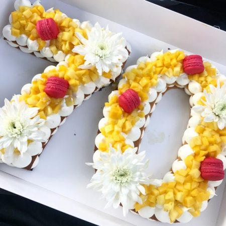Торт цифра 70