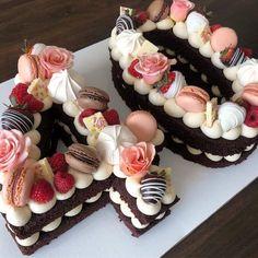Торт цифра 40