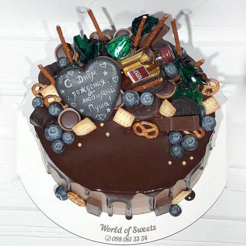 Торт с джек дениелс