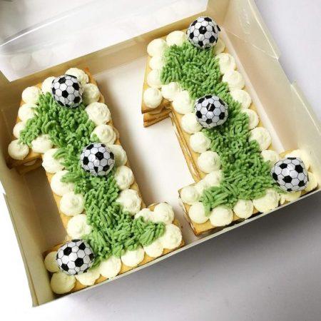 Торт цифра 11