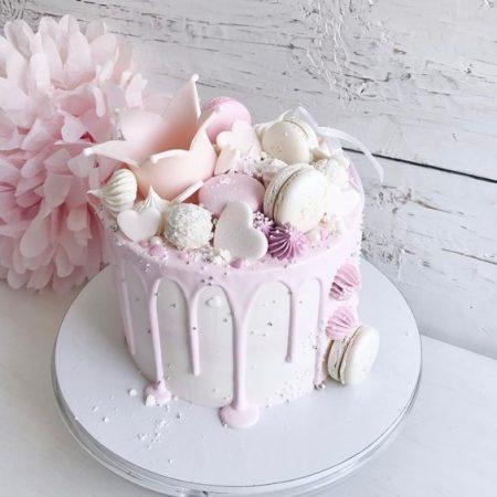 Торт девочке с короной