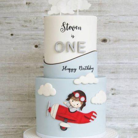 Детский торт лётчик