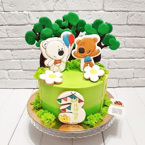 Торт с пряниками мимимишки