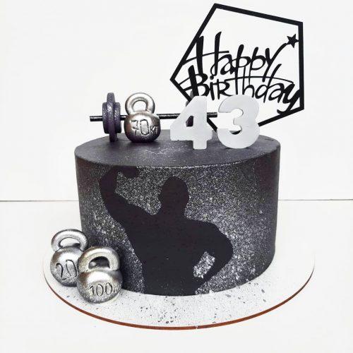 Торт бодибилдеру
