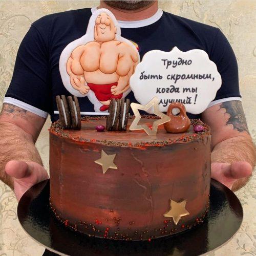 Торт с качком