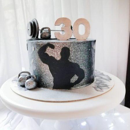 Торт для мужчины качка