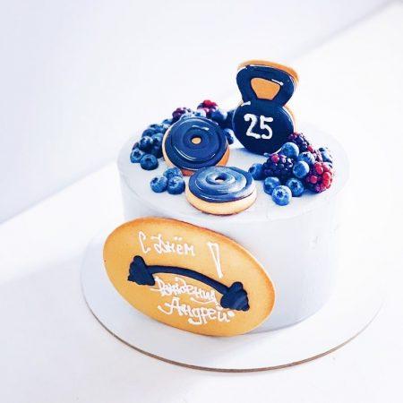 Торт для спортсмена без мастики