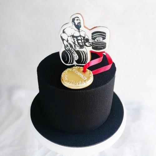 Торт для мужчины спортсмена