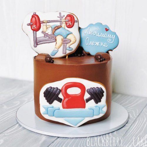 Торт для спортсмена на день рождения