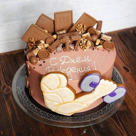 Торт на заказ для спортсмена