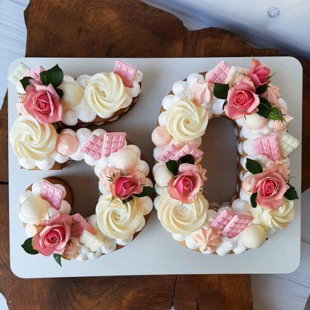 Торт цифра 50