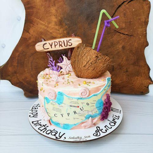 Торт кипр