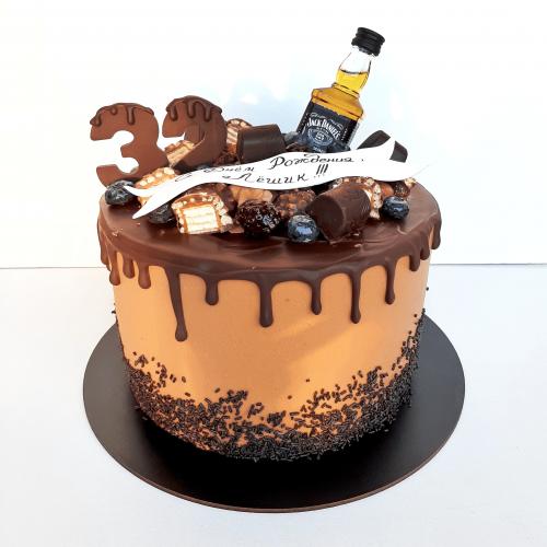 Торт с джек дэниелсом