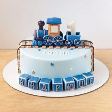Торт паровозик Томас и друзья